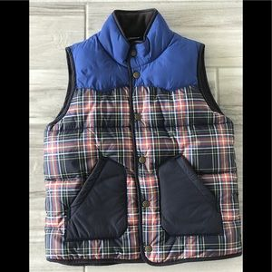 NWOT Mini Boden fleece lined vest sz 7-8